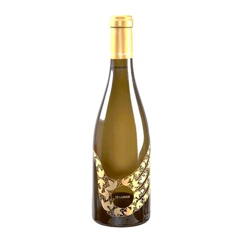 Vino Blanco 12 Lunas Botella 75 Cl.