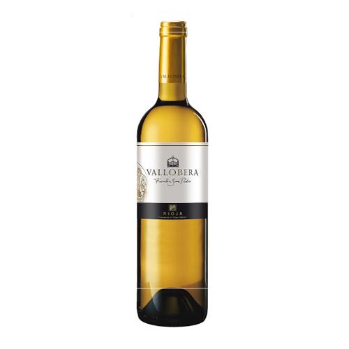 Vino Blanco Vallobera Joven Botella 75 Cl.