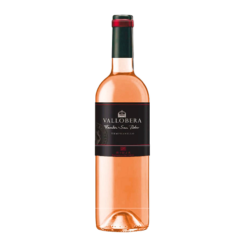 Vino Rosado Vallobera Joven Botella 75 Cl.