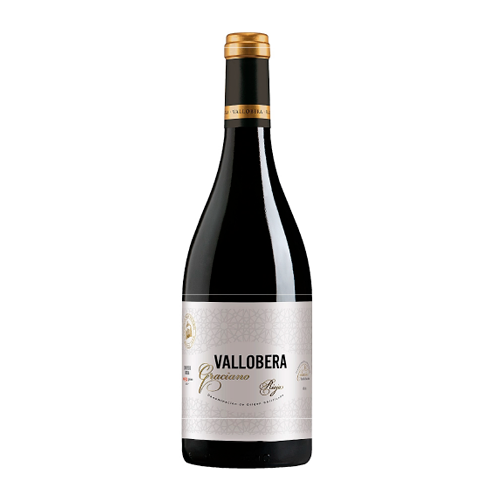 Vino Tinto Vallobera Graciano Botella 75 Cl.