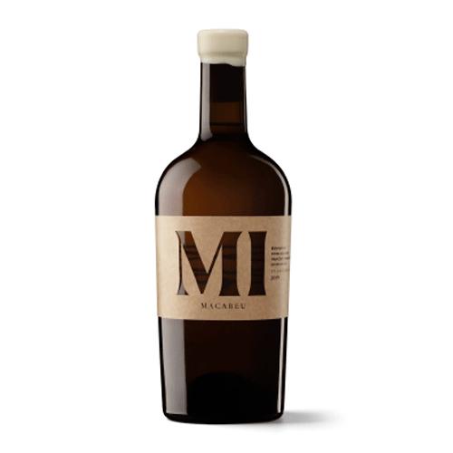 Vino Blanco Mi Macabeo Sin Sulfitos Botella 75 Cl.