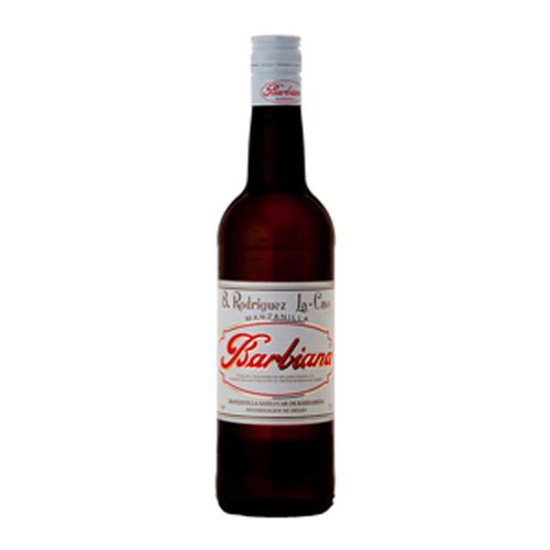 Manzanilla Barbiana Botella 75 Cl.