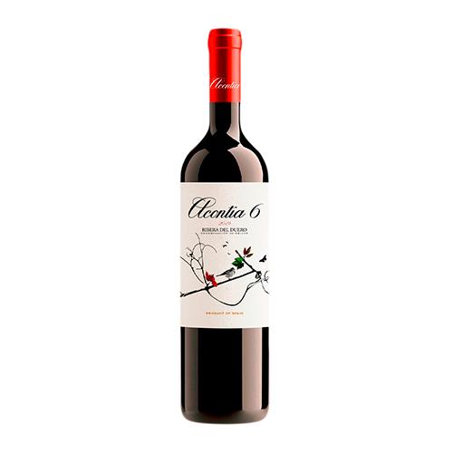 Vino Tinto Acontia 6 Ribera Botella 75 Cl.