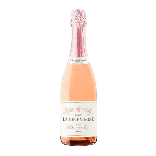Vino Espumoso La Vie En Rose Cava Botella 75 Cl.
