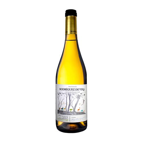 Vino Blanco Rodriguez De Vera Chardonnay Botella 75 Cl.